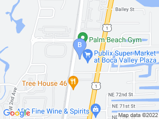 Map of Fetch! Pet Care Boca Raton Dog Boarding options in Boca Raton | Boarding