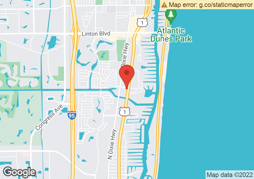 Google Map of 3200 S FEDERAL HWY