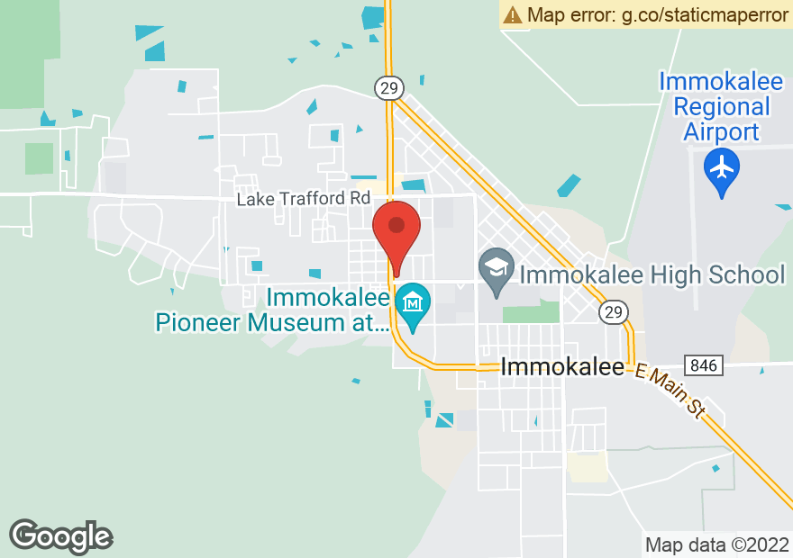 Google Map of 1450 IMMOKALEE DR