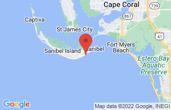 Map of Sanibel Island