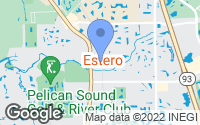Map of Estero, FL