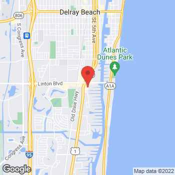 Map of Tuesday Morning at 1855 S Federal Hwy, Delray Beach, FL 33483