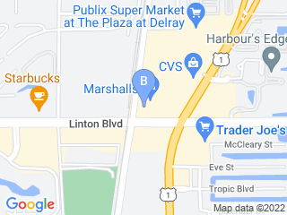 Map of Fetch! Pet Care Delray Beach Dog Boarding options in Delray Beach | Boarding