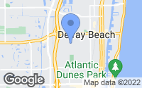 Map of Delray Beach, FL