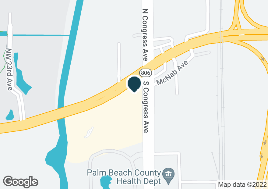 Google Map of10 S CONGRESS AVE