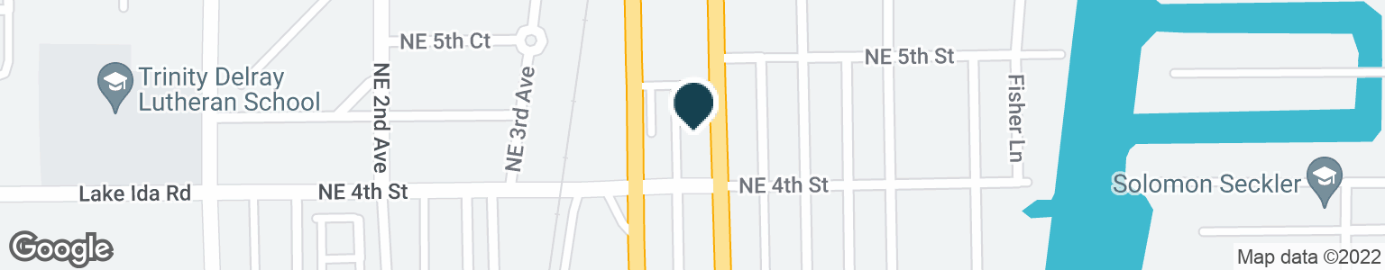 Google Map of430 NE 6TH AVE
