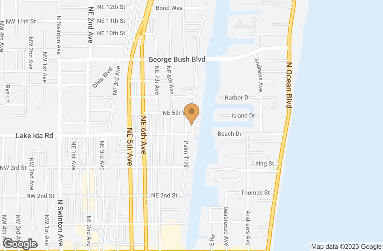 Google Map of 6 Fisher Lane, Nantucket, MA, USA