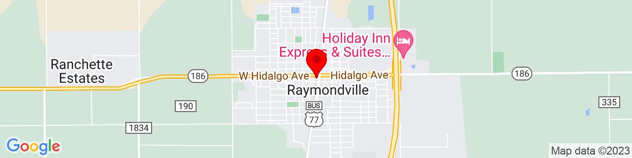 Google Map of 26.481388888888887, -97.78305555555555
