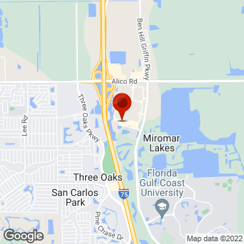 Map of Staples® Print & Marketing Services at 10016 Gulf Center Drive, Fort Myers, FL 33913