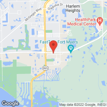 Map of Taco Bell at 11290 Summerlin Square Dr, Fort Myers Beach, FL 33931