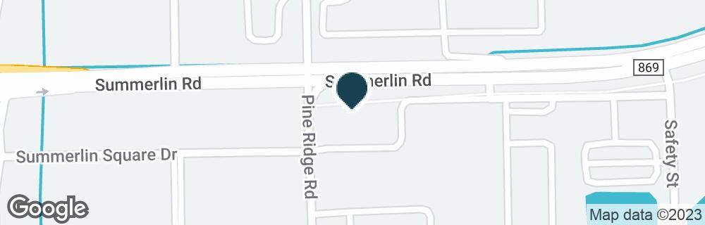 Google Map of17065 PINE RIDGE RD