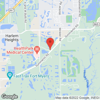 Map of Fifth Third Mortgage - Anthony McCloud at 9000 Park Royal Dr, Fort Myers, FL 33908