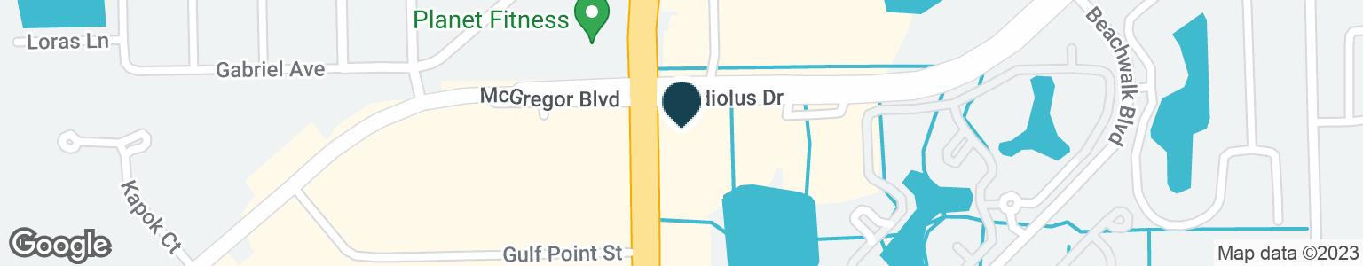 Google Map of15601 SAN CARLOS BLVD