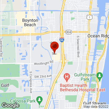 Map of Staples® Print & Marketing Services at 1540 SW 8th Street, Boynton Beach, FL 33426