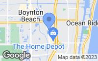 Map of Boynton Beach, FL