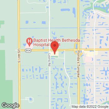 Map of Panera Bread at 8784 Boynton Beach Blvd, Boynton Beach, Florida 33437