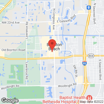 Map of Bed Bath & Beyond at 371 North Congress Avenue, Boynton Beach, FL 33426
