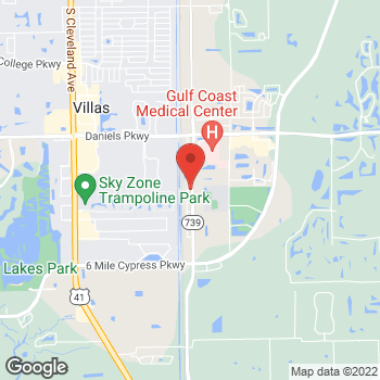 Map of Alliance Financial Group at 14021 Metropolis Ave., Fort Myers, FL 33912