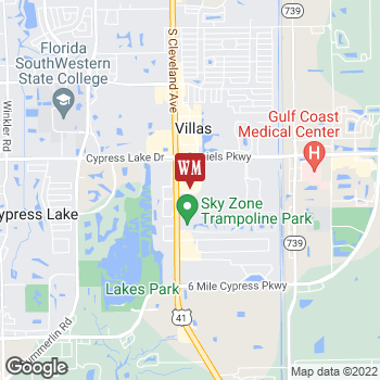 Map of Cost Plus World Market at 13741 S Tamiami Trail, Fort Myers, FL 33912
