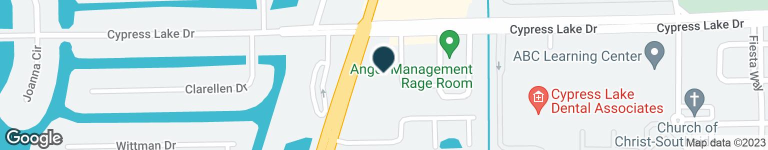 Google Map of13551 MCGREGOR BLVD