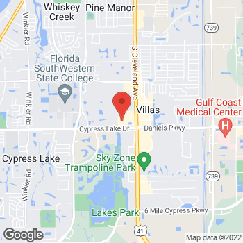 Map of Tuesday Morning at 13300 S Cleveland Avenue, Fort Myers, FL 33907