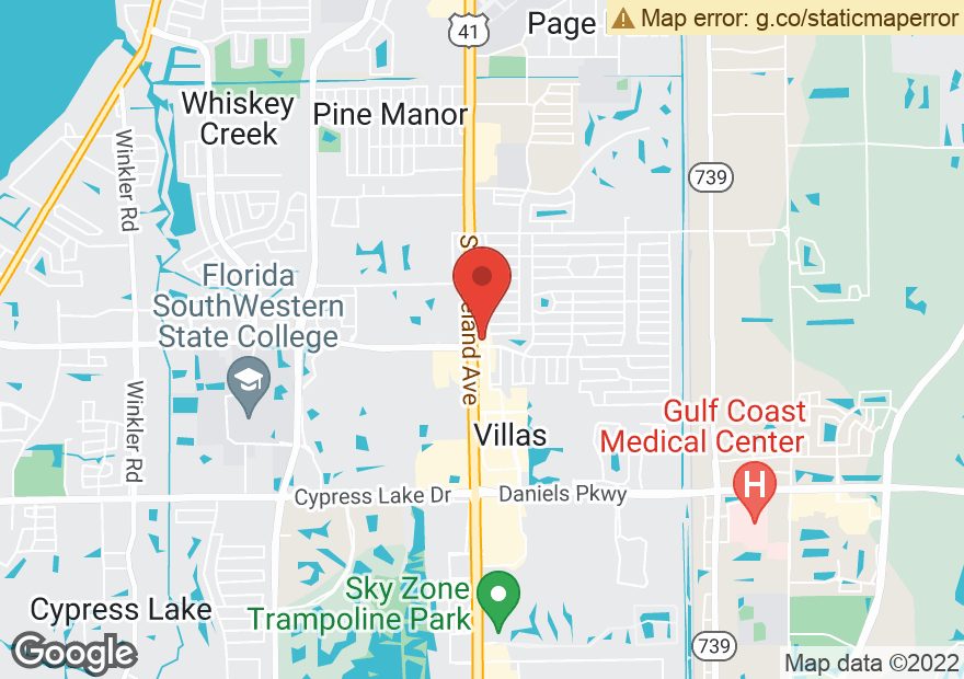 Google Map of 12749 S CLEVELAND AVE