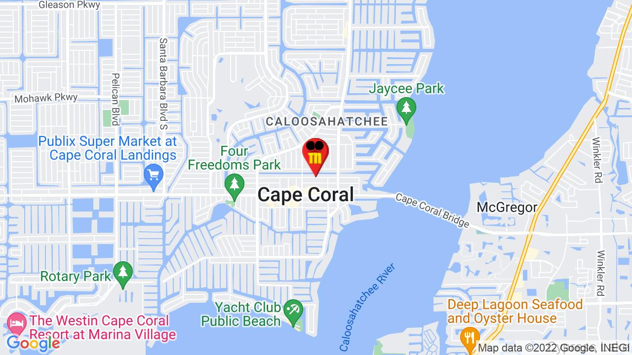 Google Map of Cape Coral Pest Control