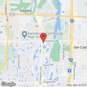 Map of Citi Trends at 4744 N Congress Ave, Boynton Beach, FL 33426