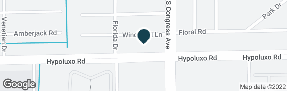 Google Map of6975 S CONGRESS AVE
