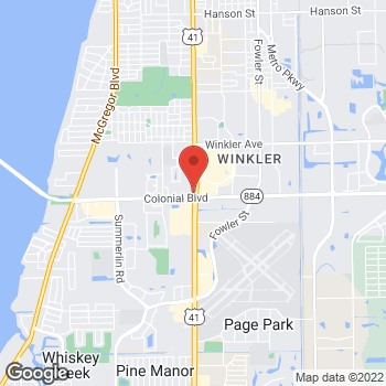 Map of Check `n Go Cleveland Ave at 4460F Cleveland Ave, Fort Myers, FL 33901