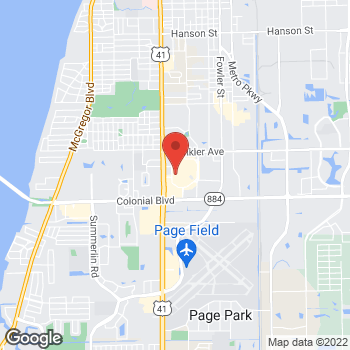 Map of G by GUESS at 4125 Cleveland Avenue, Ft. Myers, FL 33901