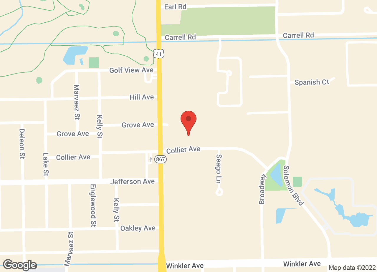 Google Map of VCA Miracle Mile Animal Hospital