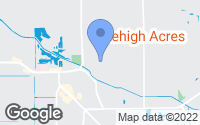 Map of Lehigh Acres, FL