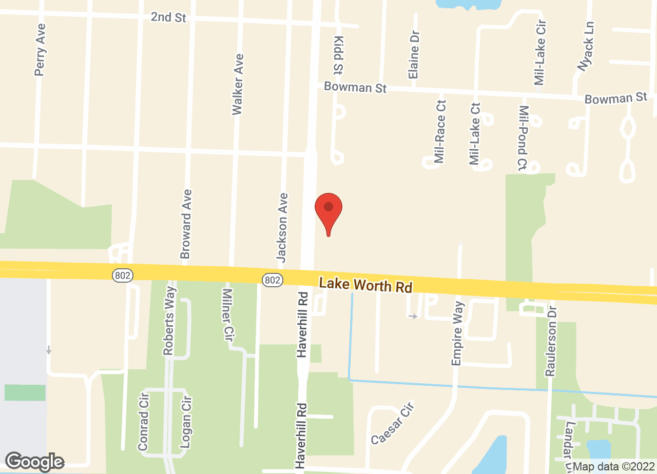 Google Map of VCA Simmons Animal Hospital