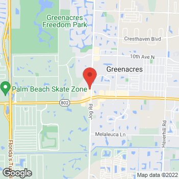 Map of Check `n Go Jog Rd. at 3899 Jog Rd., Lake Worth, FL 33467