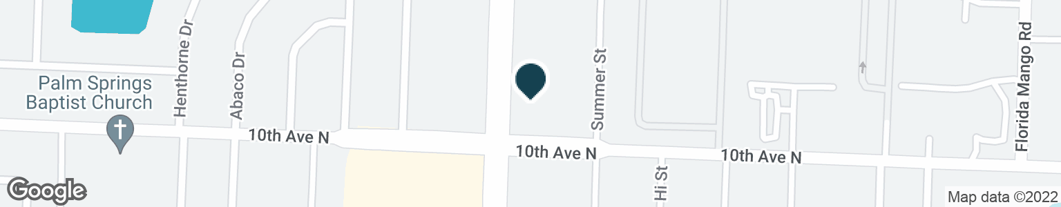 Google Map of3184 S CONGRESS AVE