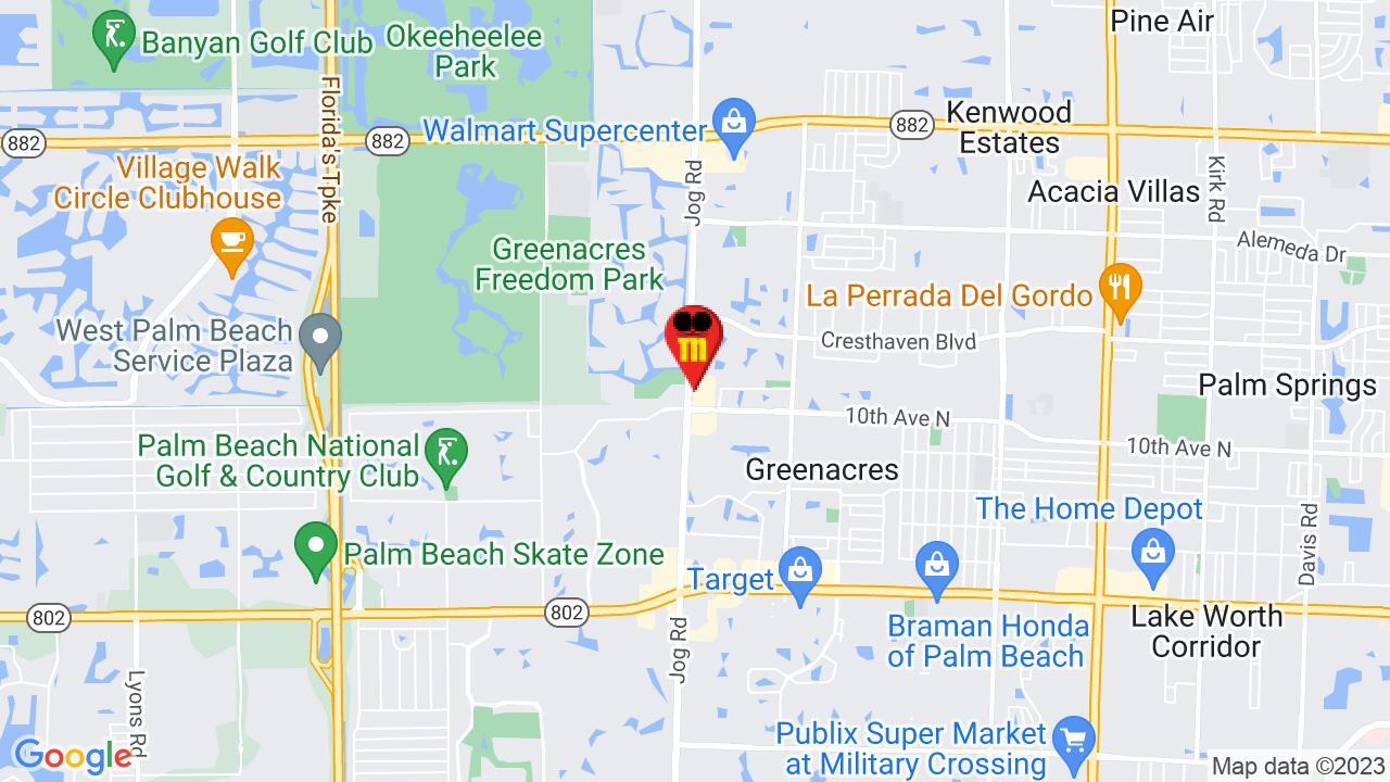 Google Map of Palm Beach Pest Control