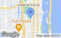 Map of Lake Worth, FL