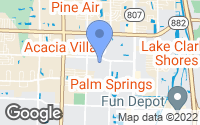 Map of Palm Springs, FL