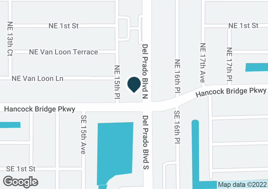 Google Map of6 DEL PRADO BLVD N