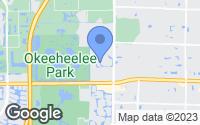 Map of Greenacres, FL