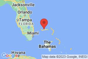 Map of Grand Bahama Island