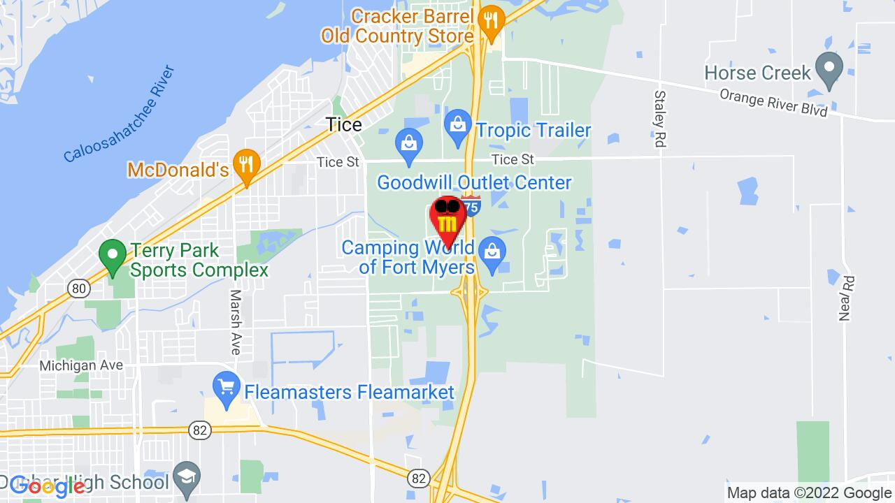 Google Map of Ft. Myers Commercial Pest Control