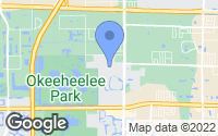 Map of Greenacres, FL