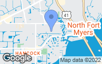 Map of North Fort Myers, FL