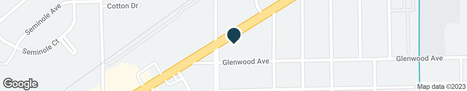 Google Map of4204 PALM BEACH BLVD