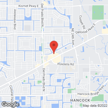 Map of Bed Bath & Beyond at 1827 Northeast Pine Island Road, Cape Coral, FL 33909