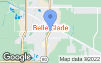 Map of Belle Glade, FL