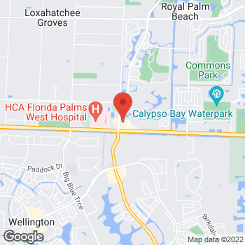 Map of Hair Cuttery at 11991 Southern Blvd, Royal Palm Beach, FL 33411