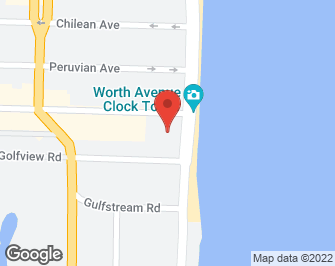 South Florida Real Estate | View 100 Worth Avenue #605 | map